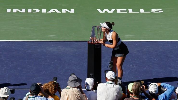 WTA w Indian Wells: Sensacja w finale! Osiemnastolatka pokonała Kerber