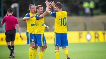 Fortuna 1 Liga: Arka Gdynia rozgromiła GKS Jastrzębie. Dublet Letniowskiego