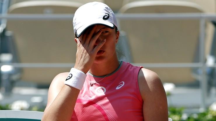 French Open. Iga Świątek przegrała z Marią Sakkari