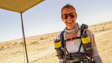 250 km po pustyni. Polka zwyciężyła w morderczym ultramaratonie
