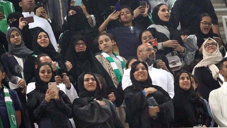 Historyczny dzień w Arabii Saudyjskiej. Kobiety po raz pierwszy mogły kibicować na stadionie