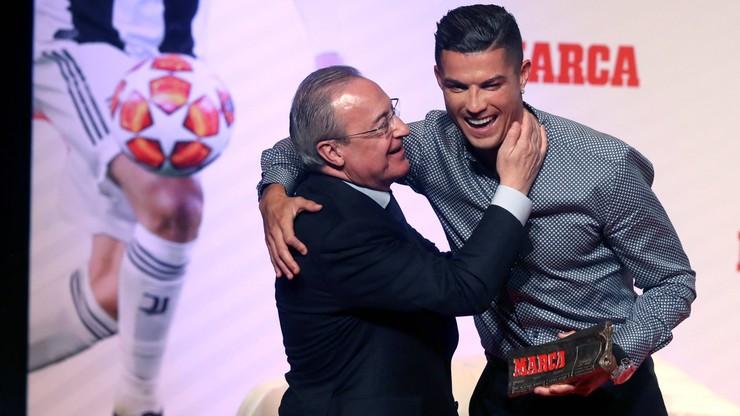 Florentino Perez wykluczył powrót Cristiano Ronaldo do Realu Madryt
