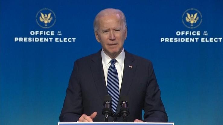 Biden: to nie byli protestujący, to byli krajowi terroryści
