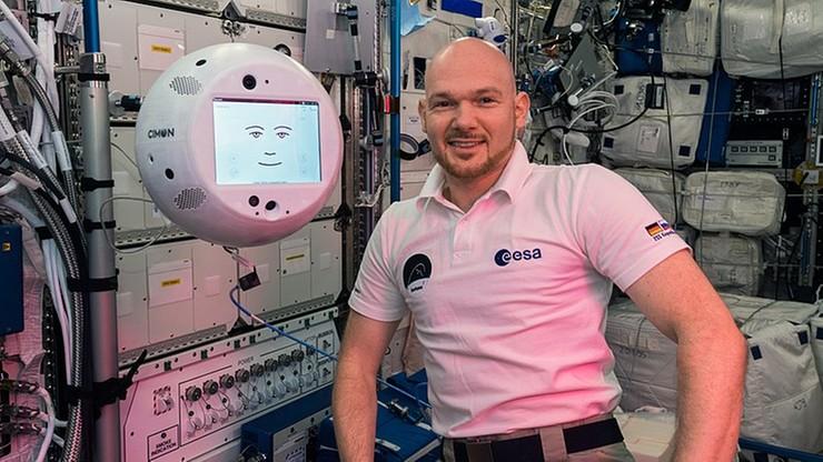 Towarzysz astronautów może się przydać podczas pandemii