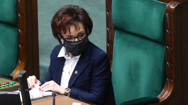 Użycie gazu wobec Barbary Nowackiej. Marszałek Witek oczekuje wyjaśnień