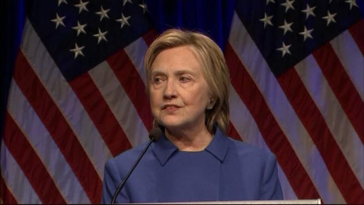 """""""Chciałam się zaszyć w domu i nigdy nie wychodzić"""" - Hillary Clinton szczerze o swojej przegranej"""