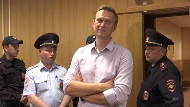Aleksiej Nawalny wyszedł na wolność po 30 dniach aresztu