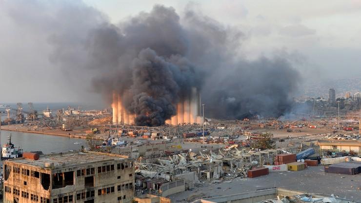 """Eksplozja w Bejrucie. """"Nieprawdopodobny cios dla Libanu"""""""