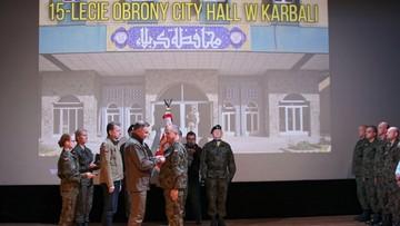 Prezydent do odznaczonych uczestników walk w Karbali: RP zbiera plony waszej wspaniałej postawy
