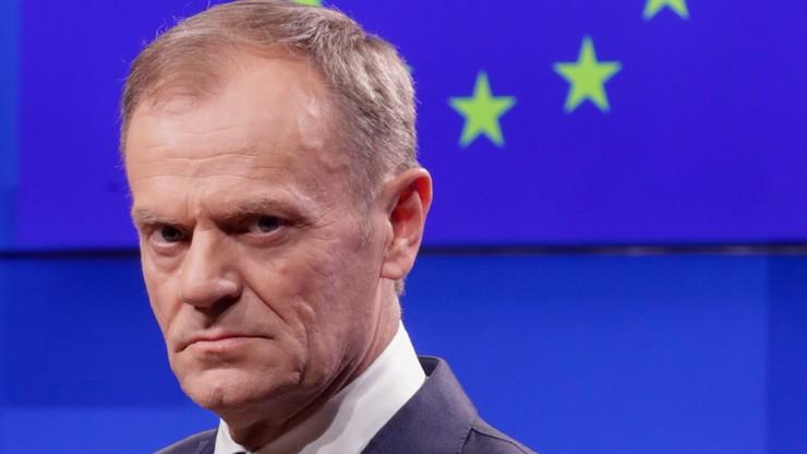 Tusk: przedłużenie brexitu do końca czerwca to większa niepewność
