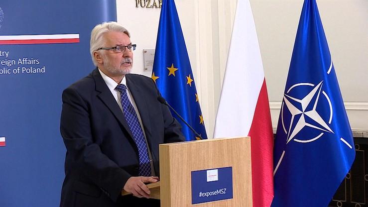 Szef MSZ kontynuuje kampanię na rzecz niestałego członkostwa Polski w RB ONZ
