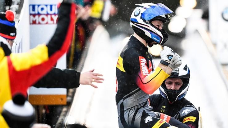 MŚ w bobslejach: Historyczny triumf Friedricha w dwójkach