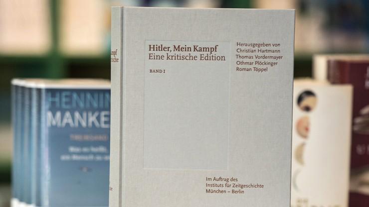 """""""Haniebne oskarżenie"""". Wydawca naukowej edycji """"Mein Kampf"""" ws. zarzutów o antysemityzm"""