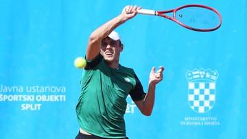 Kacper Żuk wygrał drugi turniej ATP Challenger Tour w Splicie