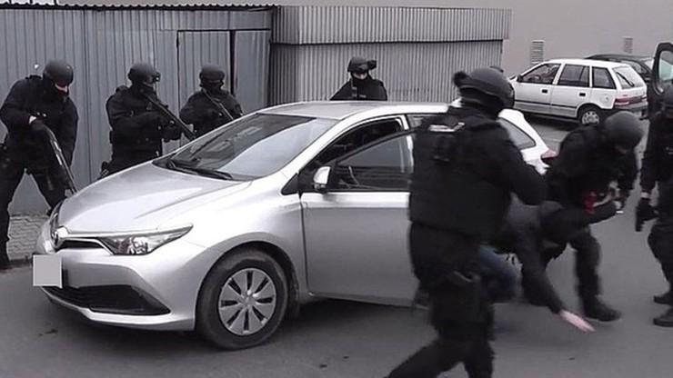 Akcja antyterrorystów w Rzeszowie. Zatrzymali mężczyznę podejrzanego o napad na bank
