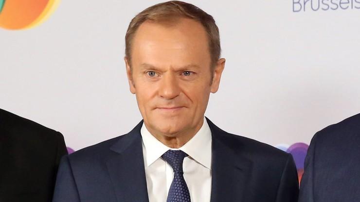 """Tusk tłumaczył swój wpis na Twitterze. """"Powinniśmy być świadomi zagrożeń wewnątrz UE"""""""