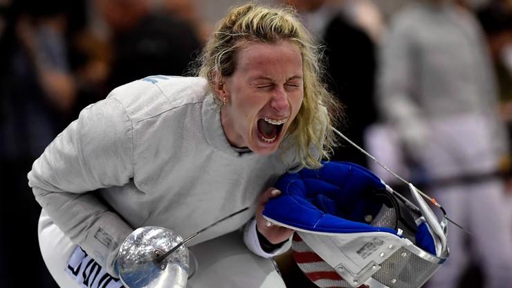 Tokio 2020: PKOl nie wyraził zgody na start szablistki Shelton w barwach USA
