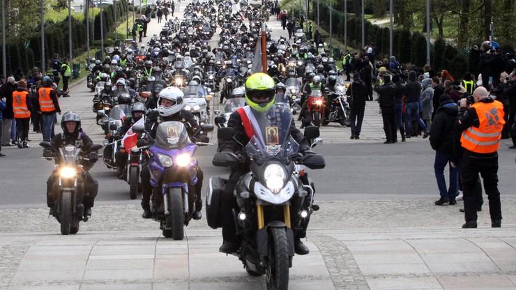 Motocyklisci i Rodziny Katyńskie na Jasnej Górze