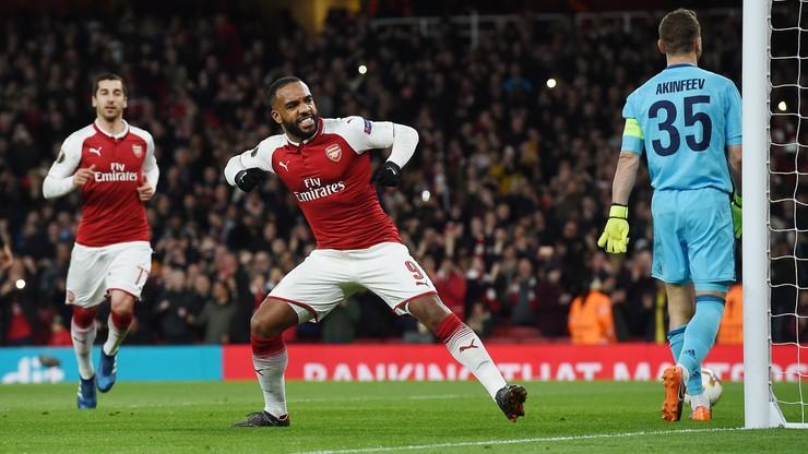 Liga Europy: Grad bramek w pierwszej połowie. Arsenal i Lazio z solidną zaliczką
