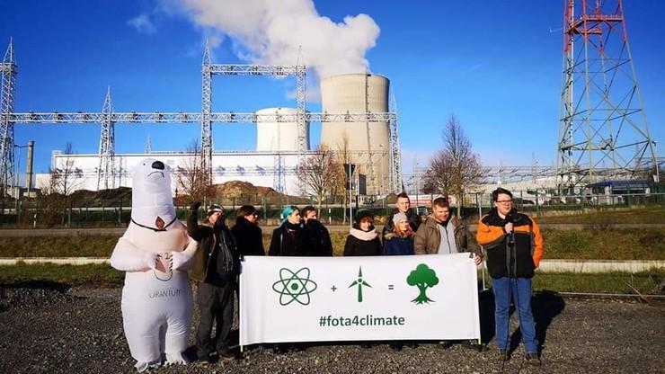 """Protesty przeciwko zamknięciu elektrowni jądrowych. """"Droga odcinania atomu to poważny błąd"""""""