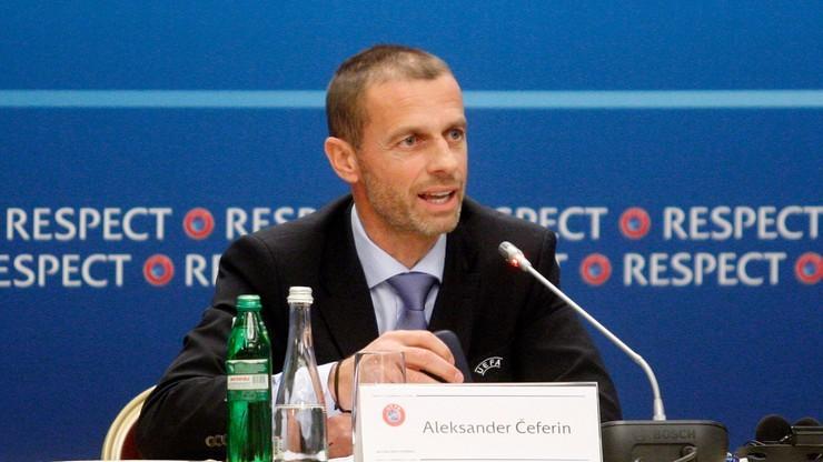 Ceferin broni nowych członków Komitetu Wykonawczego