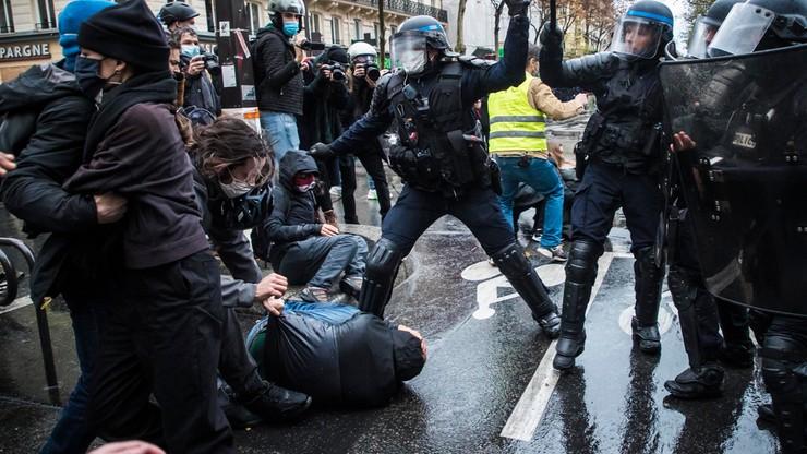 Francja: Zamieszki w Paryżu. Trwają protesty przeciw kontrowersyjnej ustawie