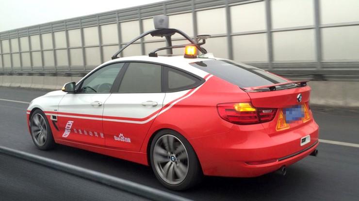 Pierwsze testy chińskiego samochodu autonomicznego - bez kierowcy