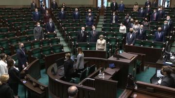Minuta ciszy w Sejmie po śmierci Jana Lityńskiego