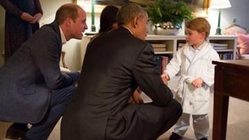 Książę George przyjął Obamę w piżamie. Spotkanie na szczycie, którym żyje świat