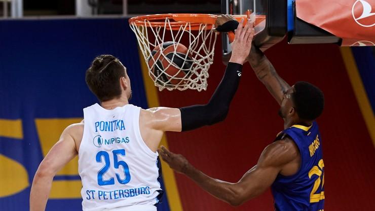 Euroliga: Ponitka czołowym graczem Zenita w przegranym meczu z Barceloną