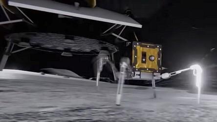 Jeszcze w tym roku na Księżycu pojawi się robo-pająk. Brytyjczycy podbijają Srebrny Glob [FILM]