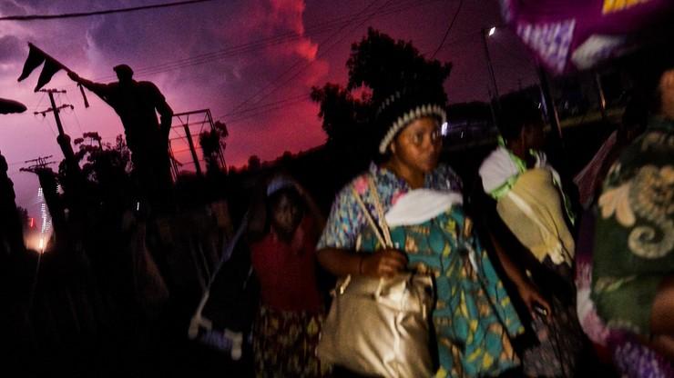 Demokratyczna Republika Konga. Ponad 100 dzieci zaginęło po wybuchu wulkanu