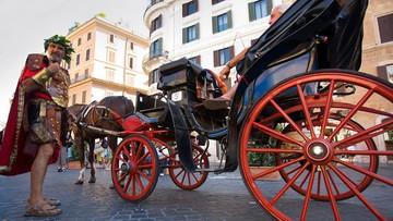 Dorożki znikną z ulic Rzymu, będą jeździć tylko po parkach