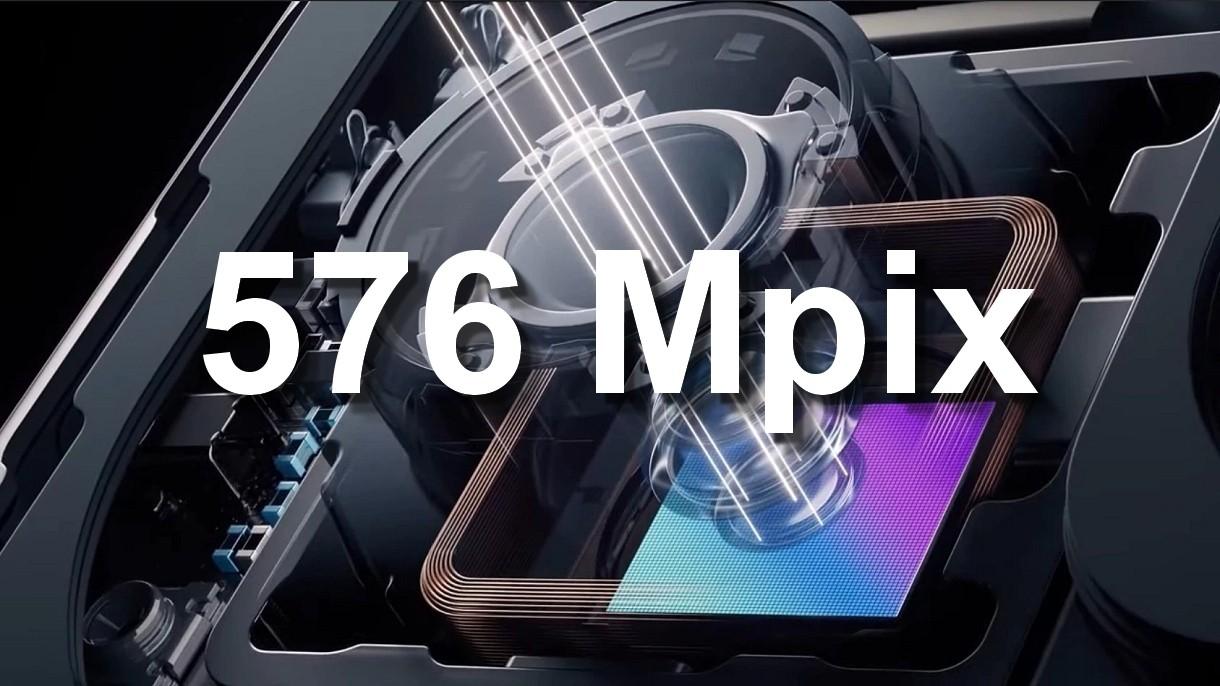 Zapomnijcie o aparatach 108 Mpix w smartfonie, Samsung szykuje 576 Mpix