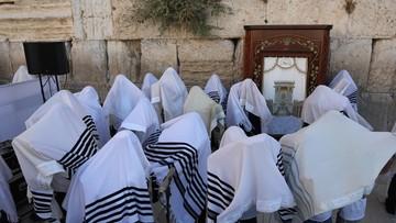 Rabini przed Ścianą Płaczu. Modlili się o zdrowie Donalda Trumpa