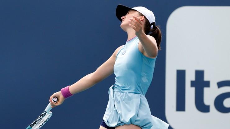 WTA w Miami: Sensacyjna porażka Igi Świątek!