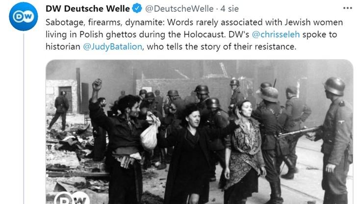 """Niemcy: Deutsche Welle na Twitterze napisało o """"polskich gettach"""". Redakcja przeprasza"""