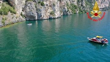 Zaginiony nad jeziorem Garda kierowca to pracownik polskiej firmy. Wznowiono poszukiwania