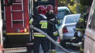 Pożar w wieżowcu we Wrocławiu. Nie żyje jedna osoba