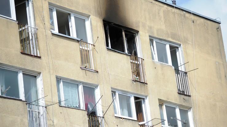 Pożar mieszkania w Koszalinie. Nie żyją dwie osoby