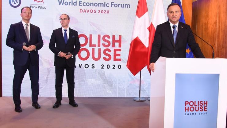 """Dom Polski w Davos. """"Polskie władze i firmy mają wielkie ambicje"""""""
