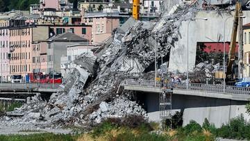Genueńczycy oddają mieszkania tym, którzy stracili domy w katastrofie mostu