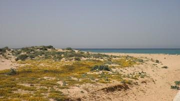 Ciało małego uchodźcy na brzegu hiszpańskiej plaży. Prawdopodobnie uciekał z Syrii