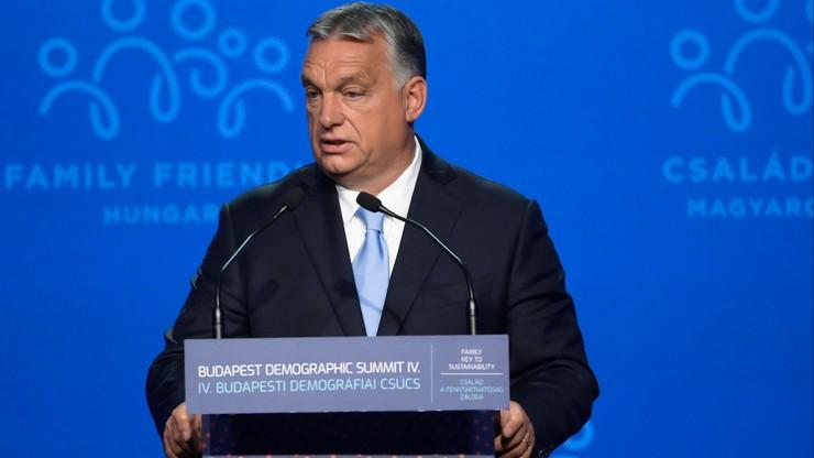 Chcieli nas ograniczyć, byśmy nie budowali kościołów tylko meczety - Orban o Europie Zachodniej