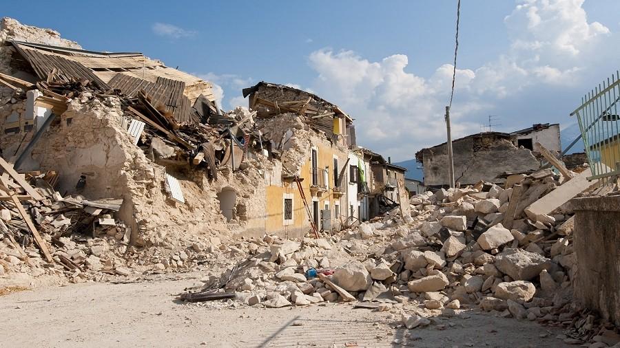 Skutki trzęsienia ziemi w środkowych Włoszech w 2016 roku. Fot. Pixabay.