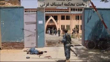 Atak talibów na sąd w Afganistanie. Nie żyje 6 osób