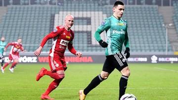 Piłkarz Legii odmówił gry w meczu. Został ukarany przez klub