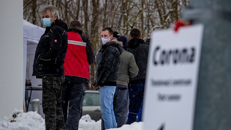 Nowe restrykcje na Słowacji. Bez testu zakaz wychodzenia z domu