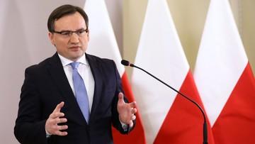 Ziobro: KE pokazała, że nie chodzi o kompromis, a o interes polityczny