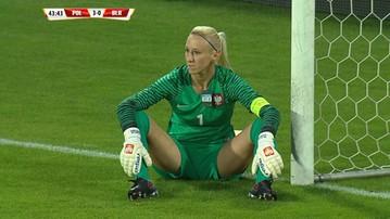 Katarzyna Kiedrzynek broniła z... metką od koszulki! (WIDEO)